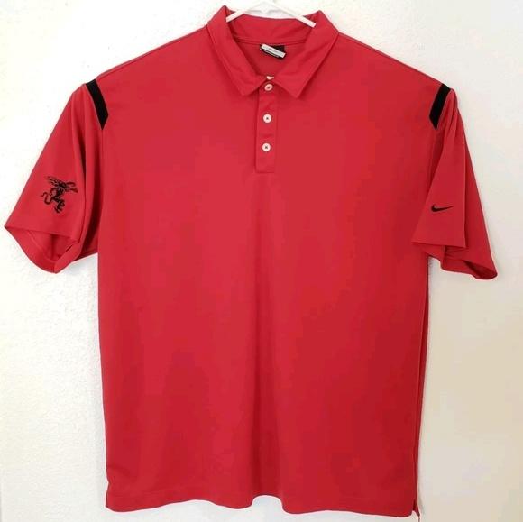 dd985a8a Nike Shirts | Golf 402394 Drifit Mens Polo Shirt Red Xxl | Poshmark